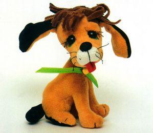 Мягкая игрушка собачки своими руками