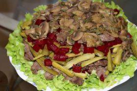 Рецепты приготовления салатов. Очень вкусные салаты