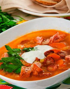 рецепт вкусного мясного супа