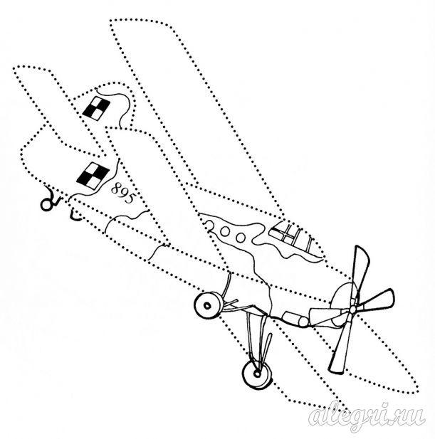 Раскраски Самолеты для детей