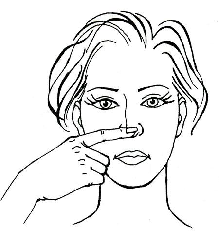 Упражнения для губ и носогубных складок