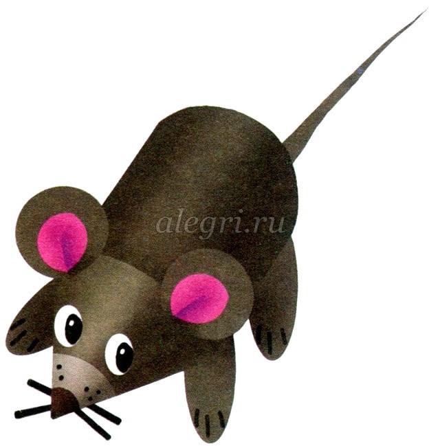 Поделки мышка своими руками